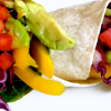 4 Colorful Vegetable Wrap * *