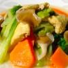 15 蘑菇腐皮燴白菜