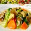 15 Mushrooms, bean curd sheet burning cabbage