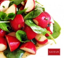 10·Radishes and lettuce salad***