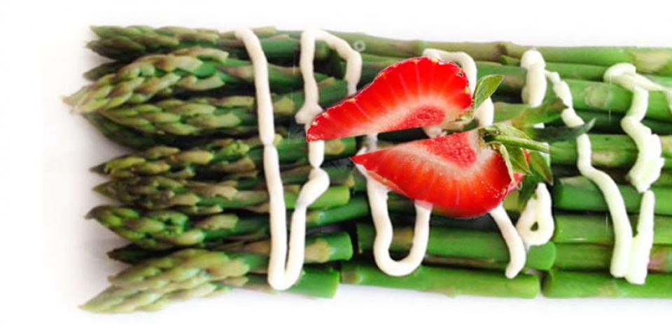 12 Japanese Style Cold Asparagus *