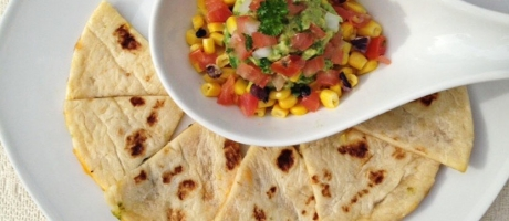 34 Tortillas with Avocado Salsa