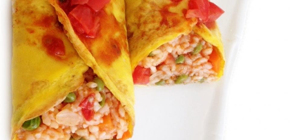 31 Japanese Style Egg Burrito