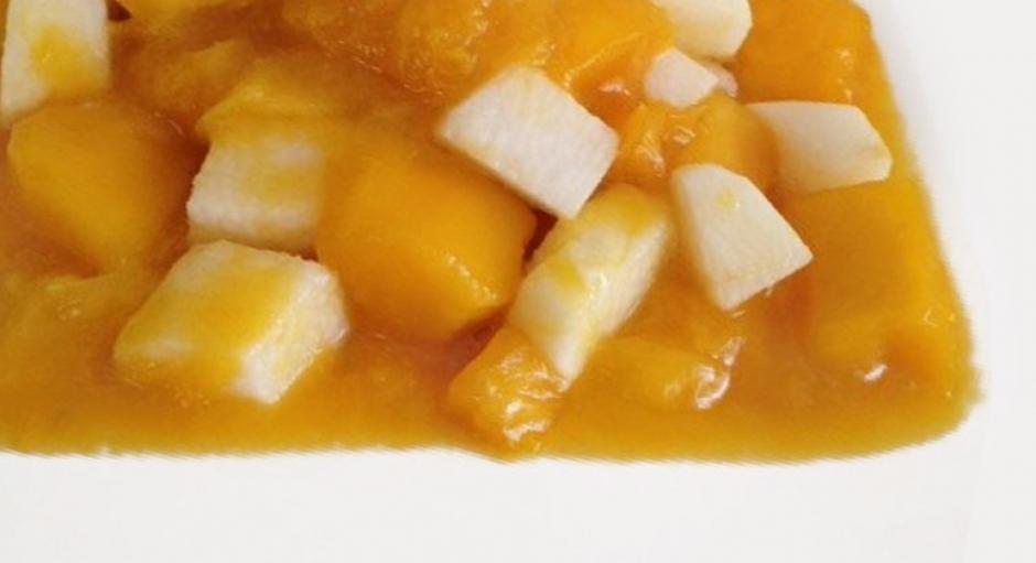 29 Nagaimo Yam and Mango Salad * *
