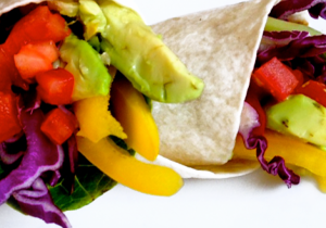 4 COLOR VEGETABLE WRAP * *