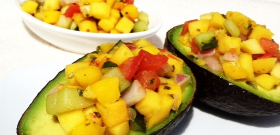 52 Mango Salsa with Avocado