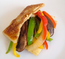 72 Stir-fried Vegetables in a Sesame Pocket * * *