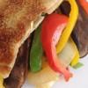 72 Stir-fried Vegetables in a Sesame Pocket * * *
