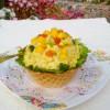 83 咖喱洋芋水果沙拉盅