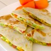 56 Quesadillas with Avocado (Instead of Cheese)