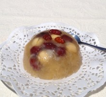 54 Snow Fungus Gelatin with Lotus Seed and Red Date