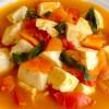87 Braised Tomato and Tofu * * *