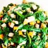 61 菠菜涼拌豆干 * * *