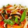 48 義式蕃茄蘑菇菠菜麵