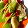 67 芹菜拌腐皮, 胡蘿蔔 * * *