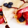 62 Strawberry Banana Crepes * * *