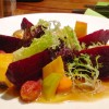 327 Sweet Potato and Beets Salad with Pumpkin Dressing