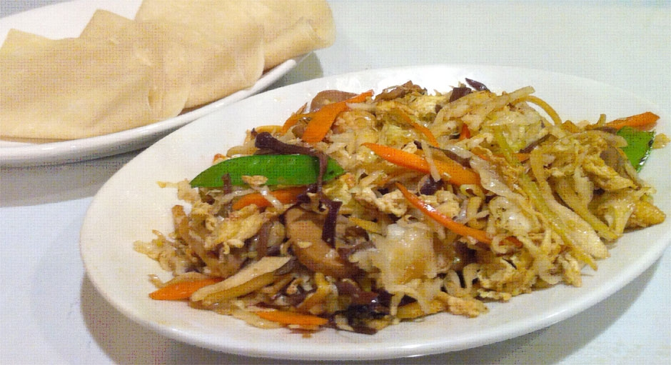 330 Moo Shu Vegetables