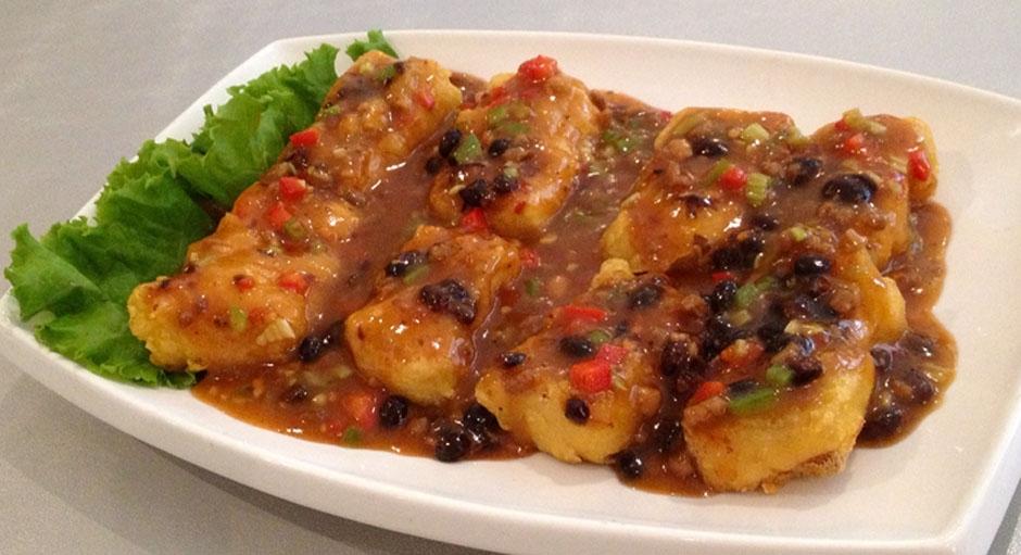 337 Crispy Tofu in Sweet Black Bean Sauce