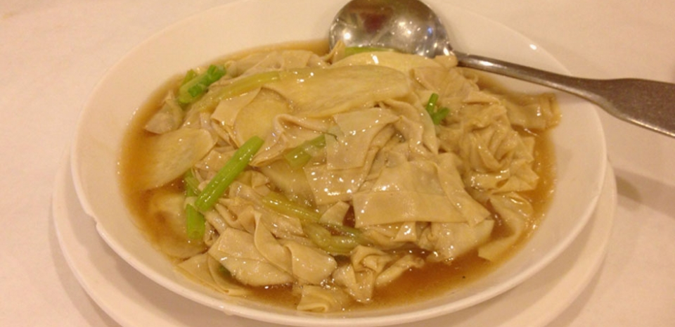 343 Braised Water Bamboo with Bai-Yei and Celery