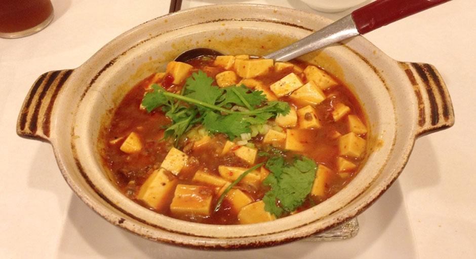 345 Mapo Tofu (Braised Tofu in Chili Sauce)